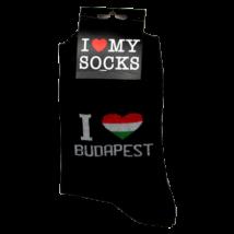 ZOKNI I love Budapest, fekete