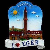HŰTŐMÁGNES KEPES POLIRESIN I love Eger