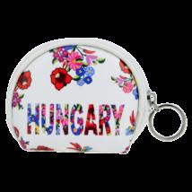 RR Pénztárca női Hungary feliratos, kalocsai mintás Flóra-A