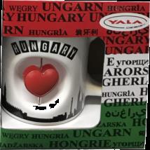 BÖGRE 3D PANORÁMA+SZÍV HUNGARY FEHÉR