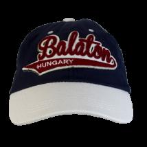 BASEBALL SAPKA KEPES HUNGARY, BALATON - Balaton felirattal, kék