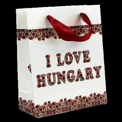 TASAK I LOVE HUNGARY MATYÓ VIRÁGOS  11*14