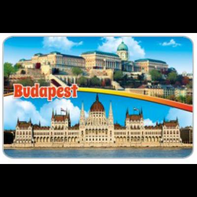 HŰTŐMÁGNES WE PW,PWP KARTON LAP BUDAPEST - PW02