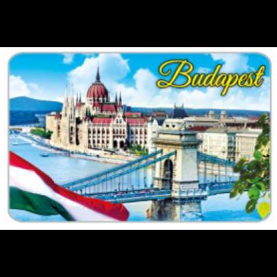 HŰTŐMÁGNES WE PW,PWP KARTON LAP BUDAPEST - PW04