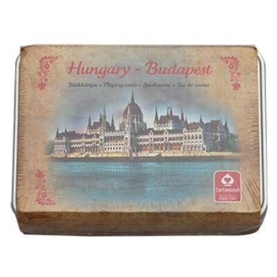 KÁRTYA DUPLA BUDAPEST,HUNGARY