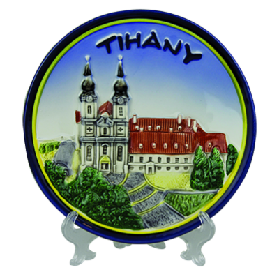 FALITÁL KEPES VIDÉK 12CM - Tihany