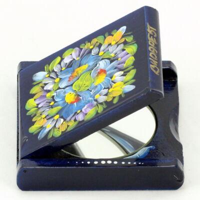 TÜKÖR FA Budapest felirattal, kék, csomagolt