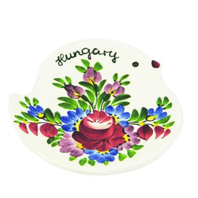 TÁNYÉR VÁROSLŐDI MINI csibe Hungary felirattal