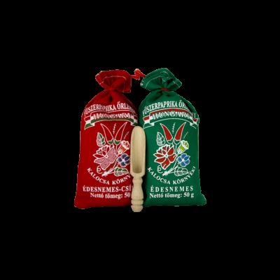 PAPRIKA MOLINOS 2*50gr Piros,csípős + zöld, édes